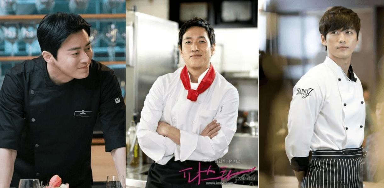 3 chefs dalam drama korea