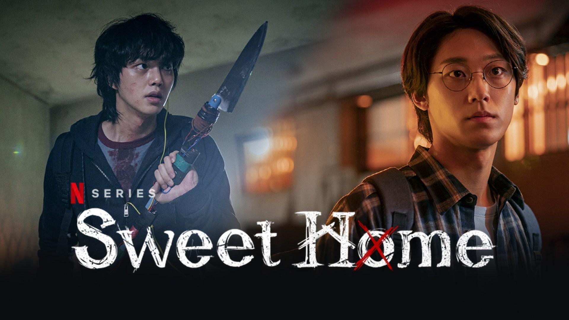 poster kdrama sweet home Netflix