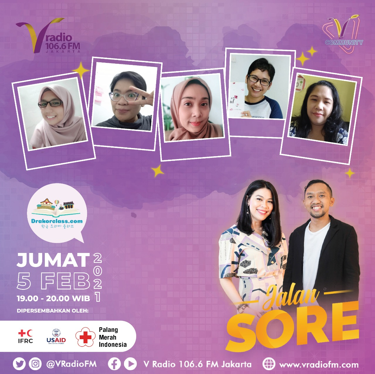 FLYER JALAN SORE VRADIO