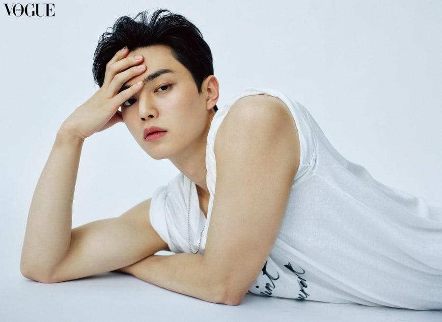 Song Kang on Vogue
