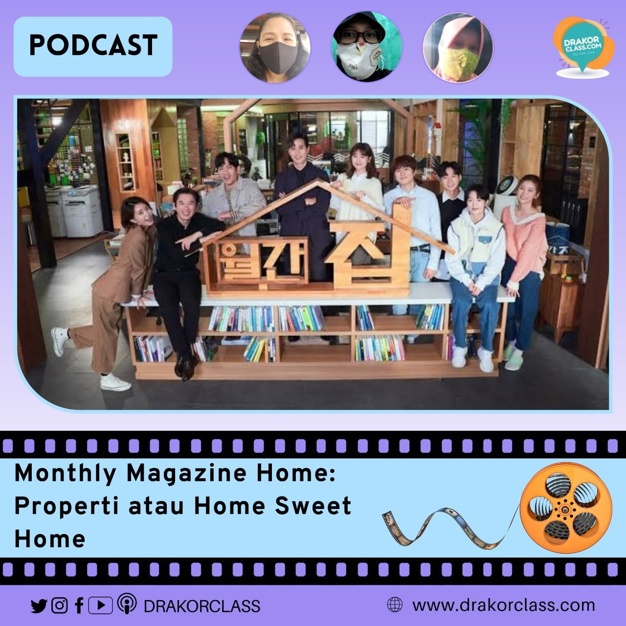 Podcast Monthly Magazine Home